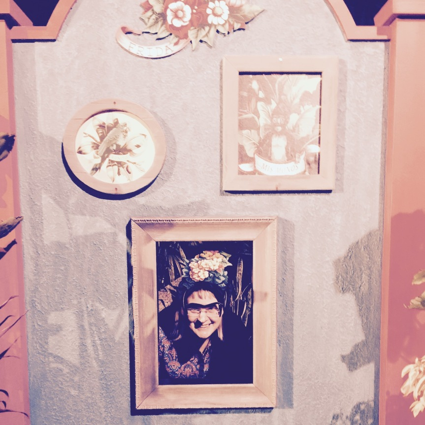 Leah-Frida Kahlo in Mexico, EPCOT